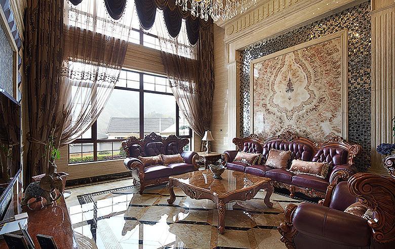 豪华古典欧式别墅装饰装潢